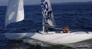 &copy: Archiv VBRS Nachwuchssegler des SYC beim Training im Boot der Bootsklasse 2.4mR