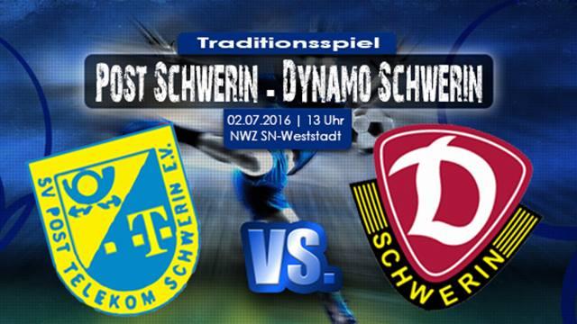 Traditionsduelles SV Post Schwerin Alt-Stars vs. SG Dynamo Schwerin Alt-Stars