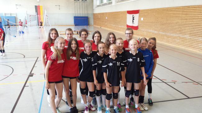 ©  Bernd Schulmeister | U12 und U16 bei dem Europäischen Volleyballturnier